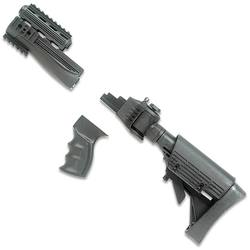 Dark gray AK-47 in parts
