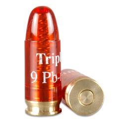 Red dummy bullet