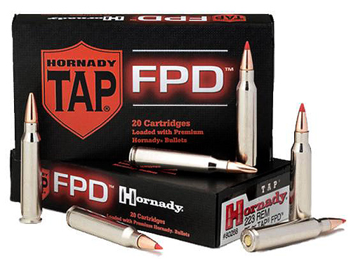 "Hornady's TAP ""For Personal Defense"" loading uses state of the art ballstic tip bullets"