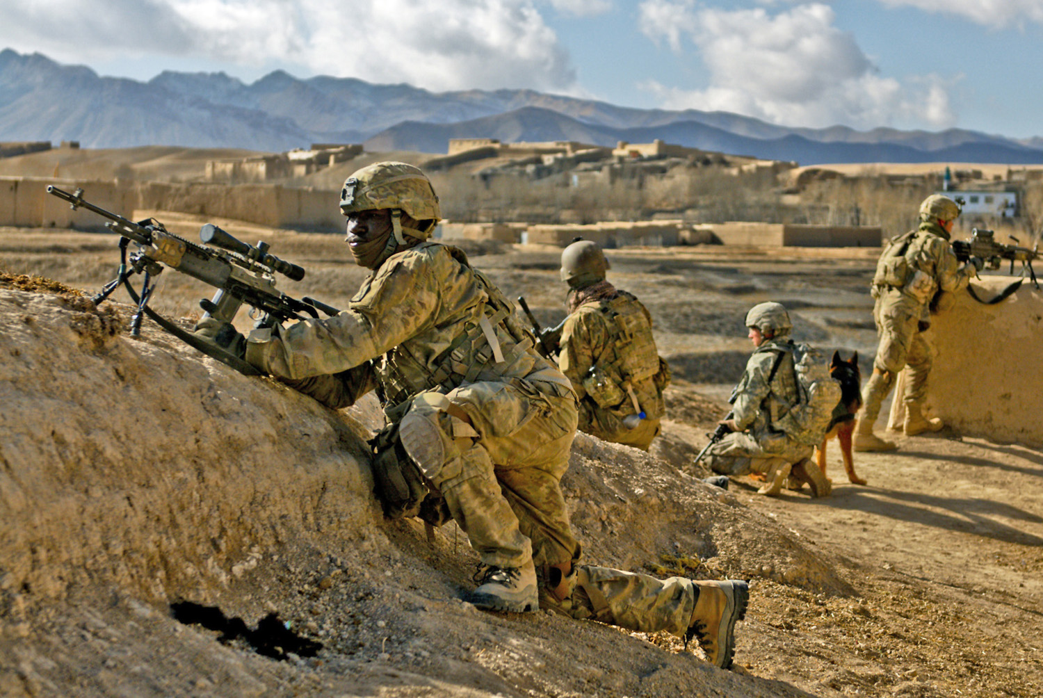 Multicam in Afghanistan