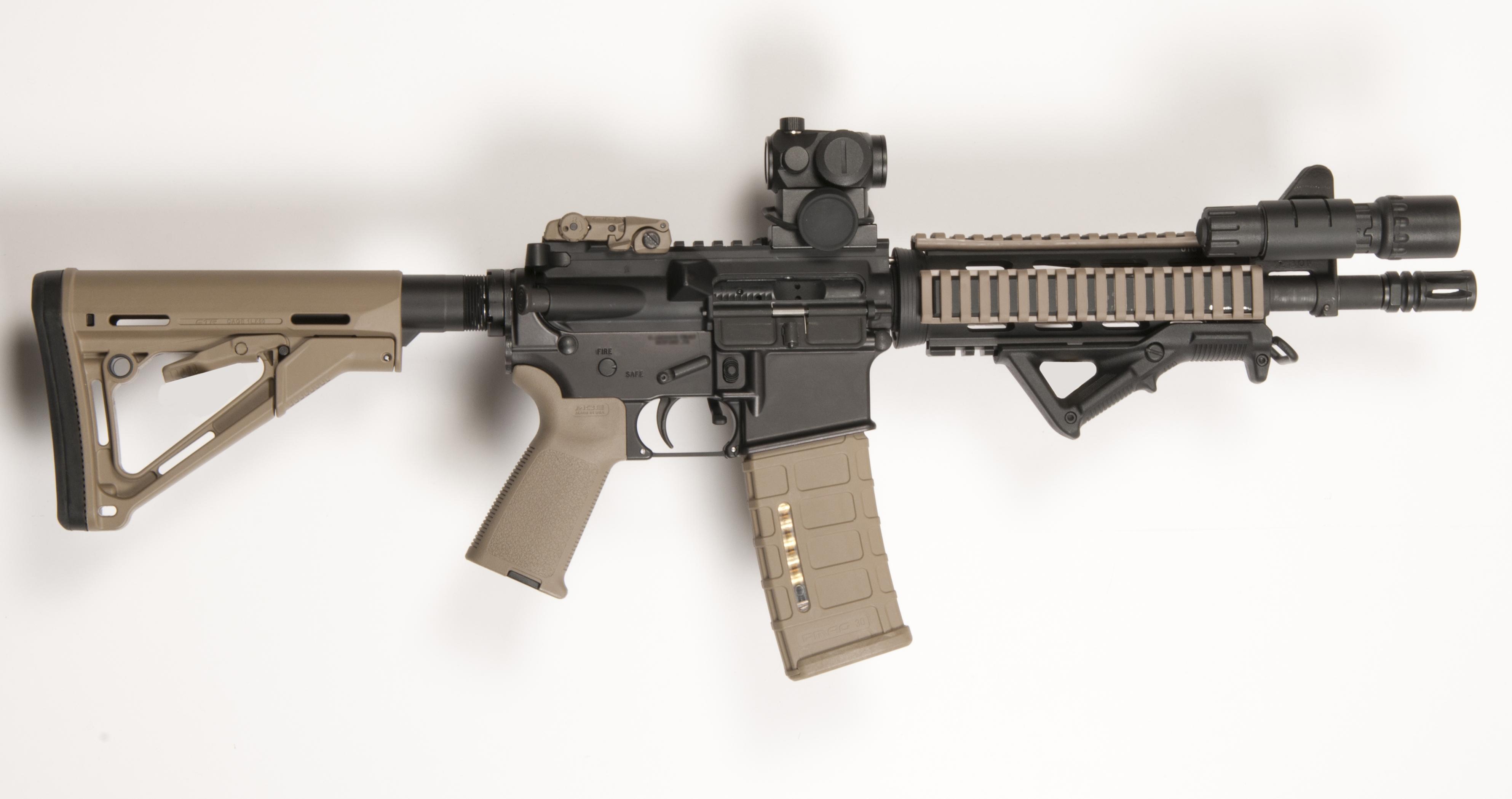 """10.5"""" AR-15 SBR"""