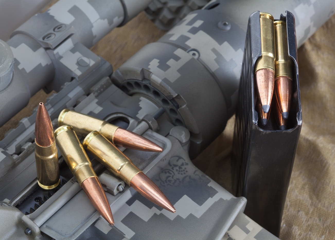338 Spectre cartridges in a 6.8SPC magazine