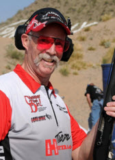 Patrick E. Kelley, Cheaper Than Dirt sponsored shooter