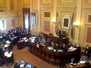 Virginia Senate in Session