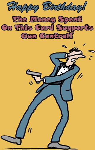 Everyone has something they need to hear. Hallmark does not like guns.