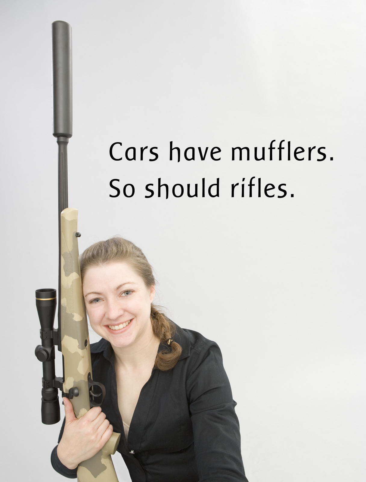 Cars and guns should be quiet