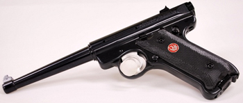 Ruger MkIII pistol black left profile
