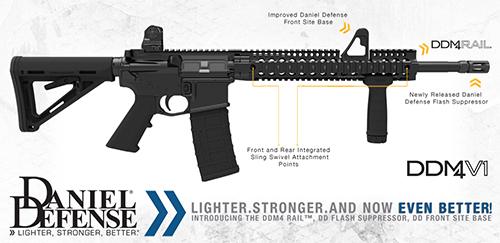 New Rail on DDM4 Rifles