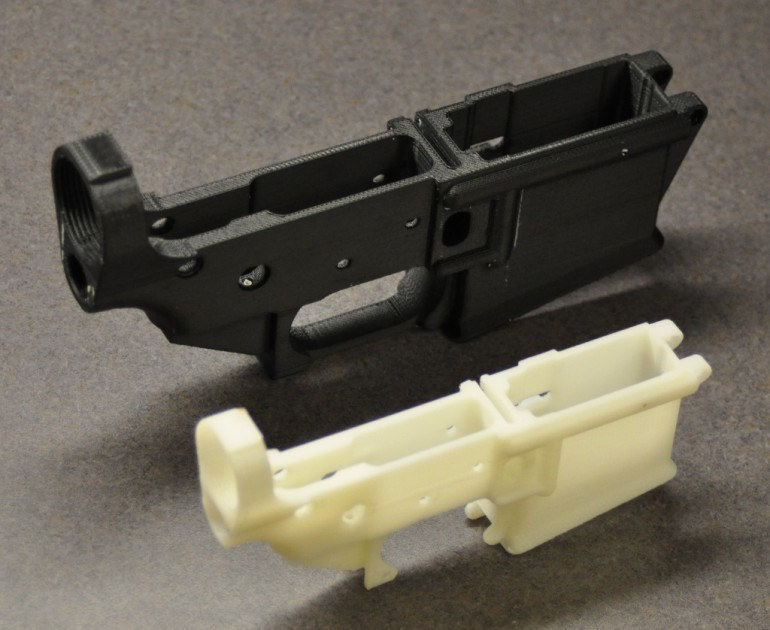 3D Printed Stripped Lower