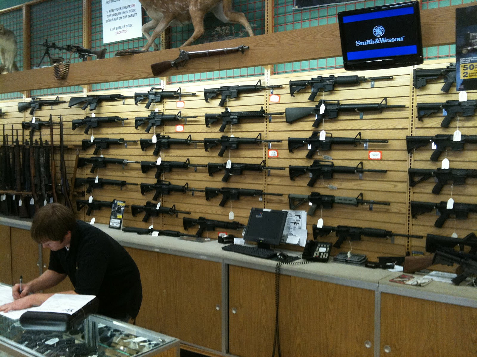 Gun Purchase Background Check