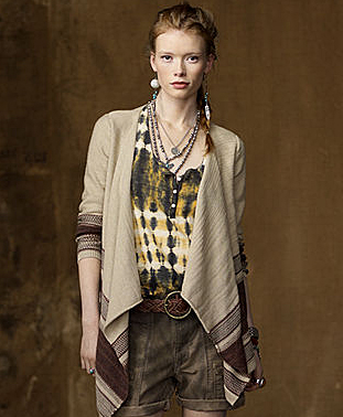 Cardigans cut like this from Ralph Lauren are the perfect cover up accessory.