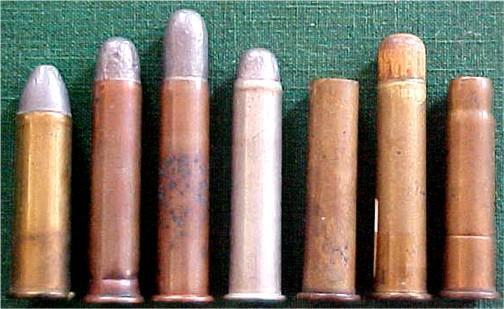 19th Century 45-70 Government Cartridges