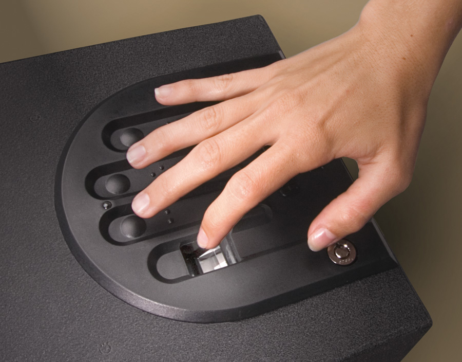 Biometric safes offer easy access, but prevent children from getting to your handgun.