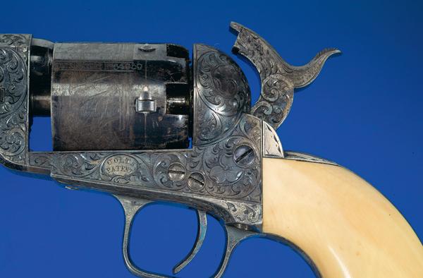 Louis Nimschke engraved revolver