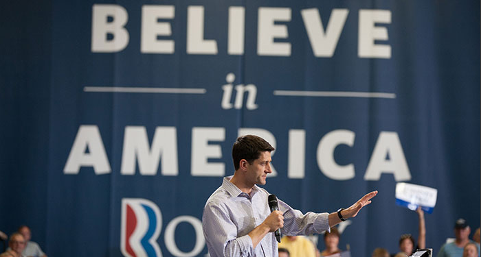 Paul Ryan, Republican Vice Presidential Candidate