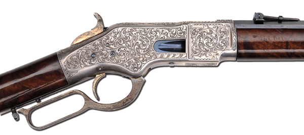 C. F. Ulrich Engraved Model 1866 Winchester