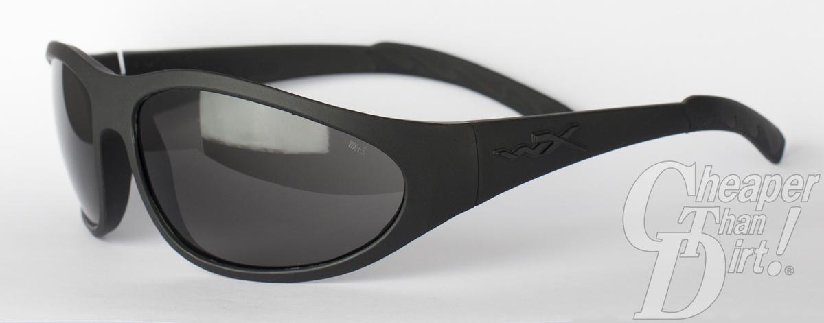 cc46da2985 Wiley X Eyewear Romer II Advanced with grey lenses. Nylon zippered  protective case