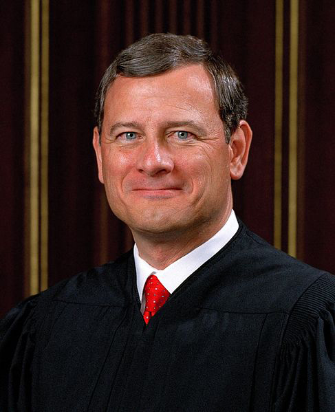Chief Justice John Roberts SCOTUS portrait