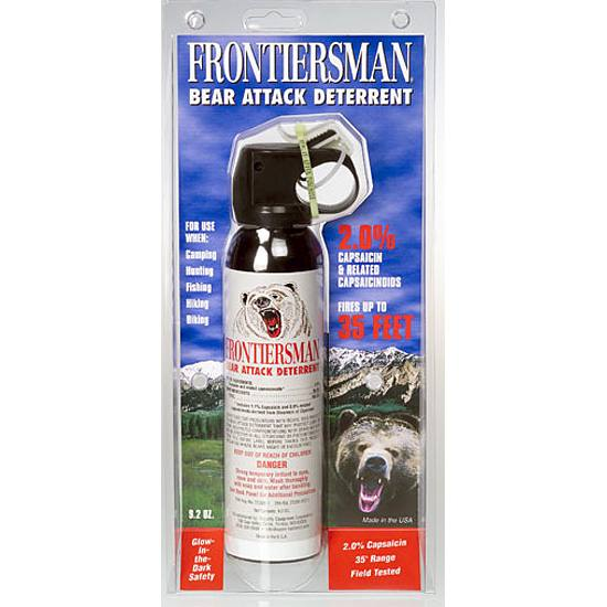 Sabre Defense Frontiersman Bear Attack Deterrent