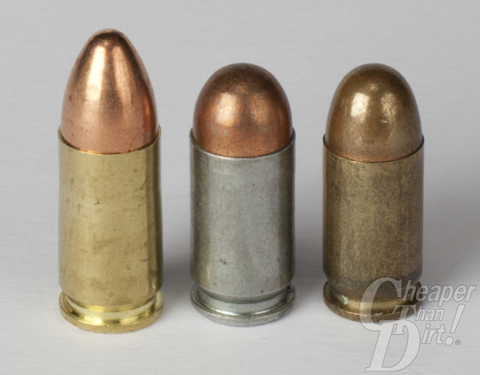 9mm Luger, 9mm Mac, .380 ACP