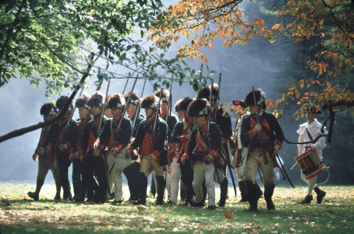 Colonials at Germantown