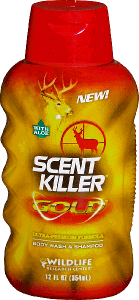 Scent Killer Gold Body Wash