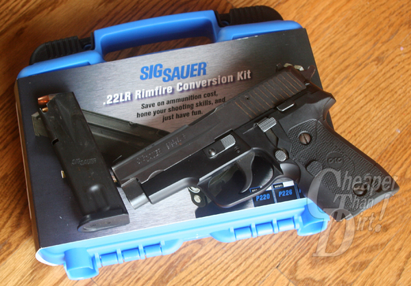 Sig Sauer P228 with .22 cal conversion kit