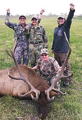 The NRA Women on Target program provides guided hunts exclusively for women.