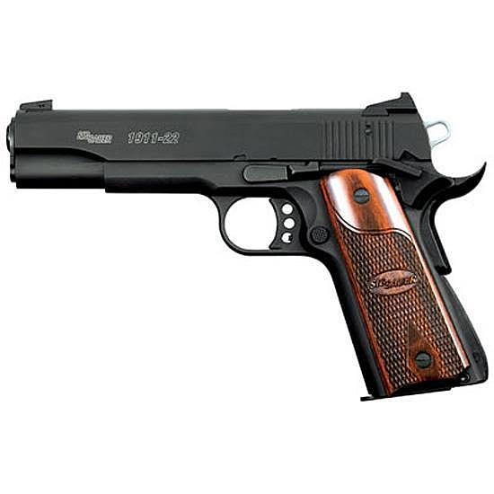 SIG Sauer 1911-22 Semi Automatic Handgun.