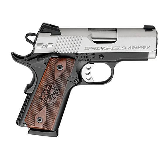 Built from the ground up, the Springfield EMP is not compatible with full-sized 1911aftermarket parts.