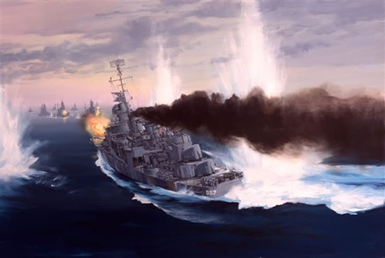 Into Harms Way - USS Johnston at Leyte
