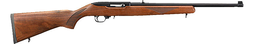 Ruger 10/22 Sporter with American Walnut Stock.