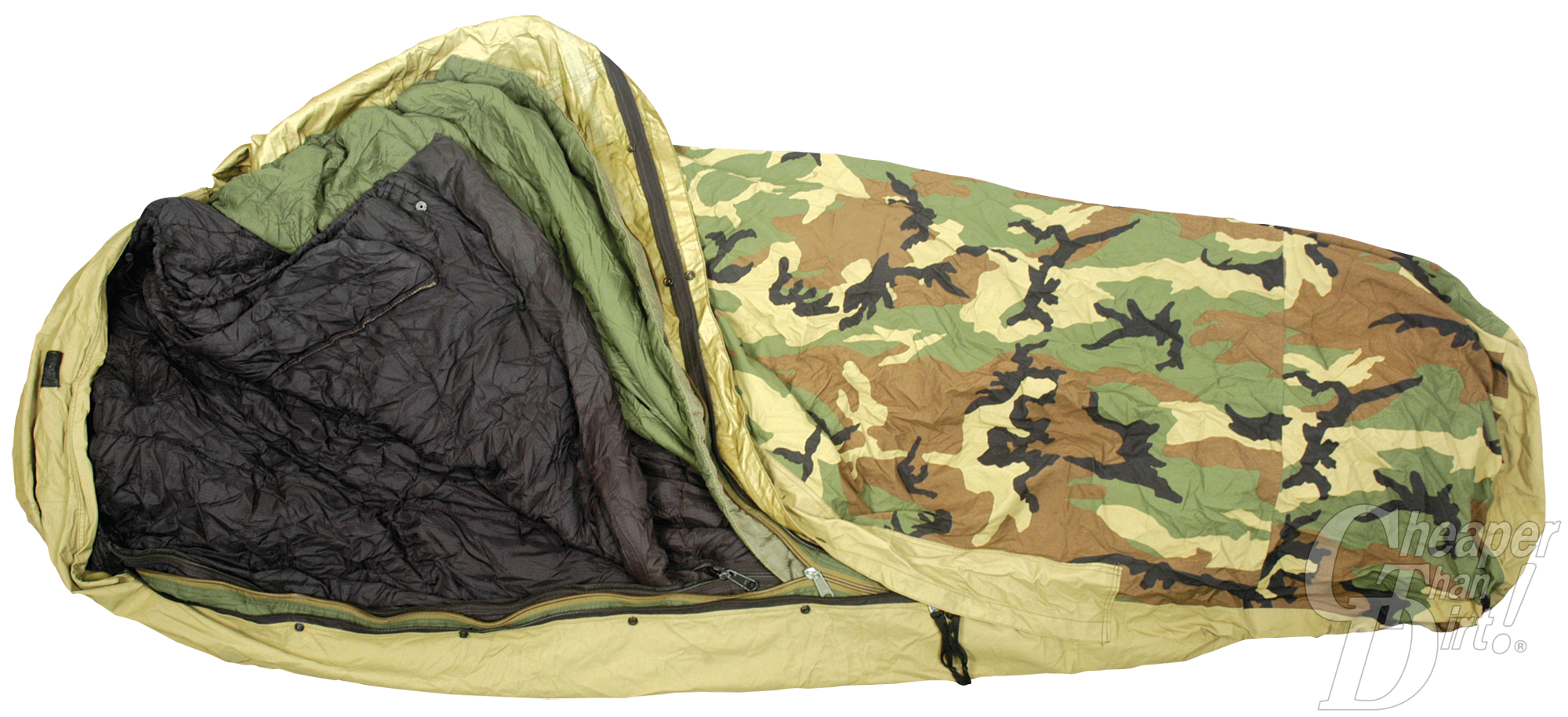 ECWS Modular Sleep System with Camo Cover