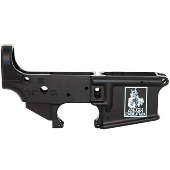 Stripped AR-15 Lower Receiver