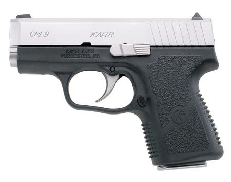 KAHR CM9 left black silver