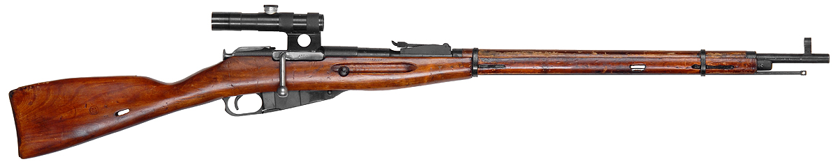 Mosin Nagant M9130 Sniper Rifle