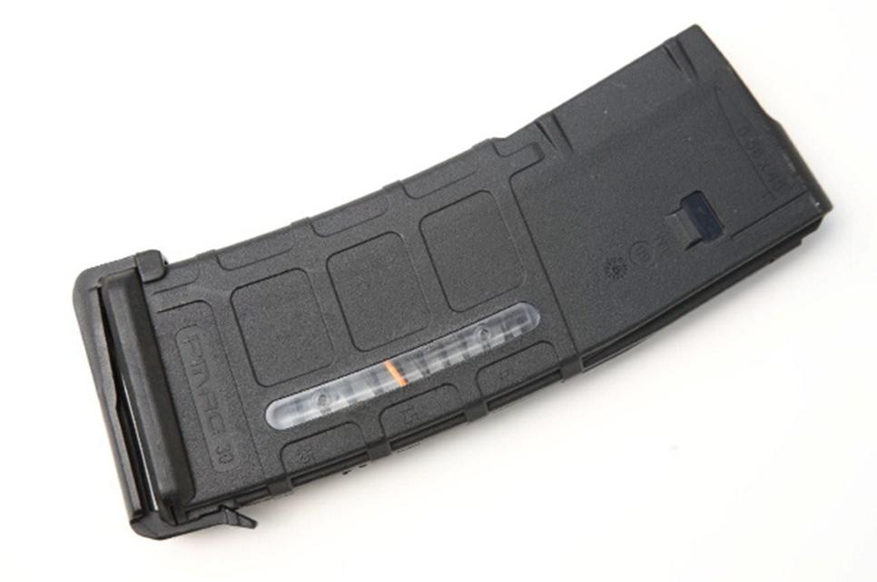 Magpul PMAG with dust cover