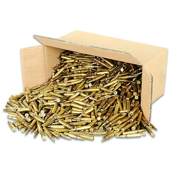 .223 NATO Lake City M855 FMJ 62-Grain Steel Penetrator Ammo