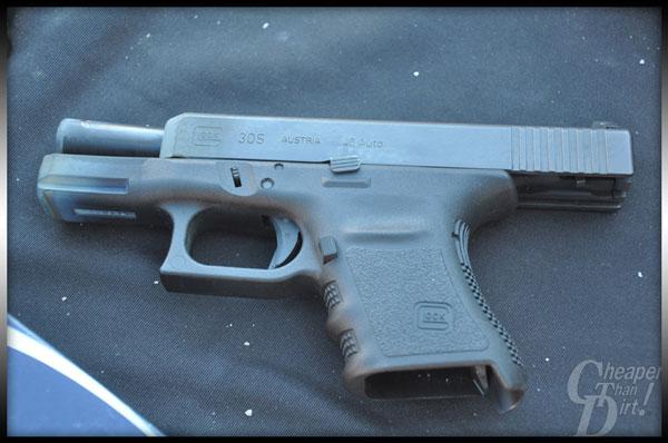 Glock 30S Open Slide