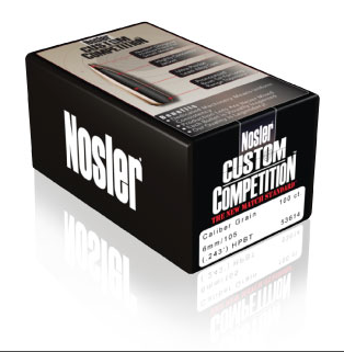 Nosler Custom Competition Ammunition