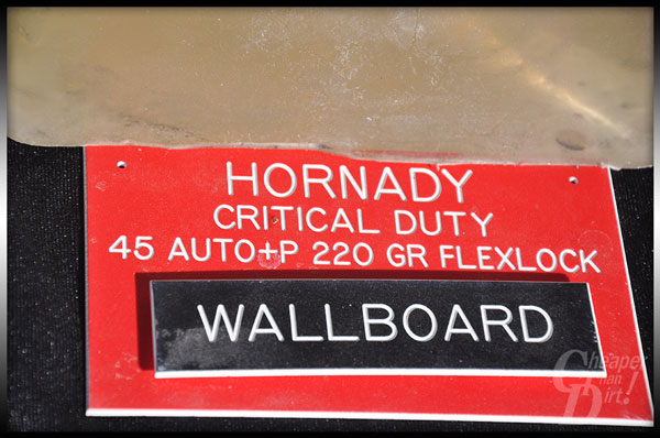 Hornady Critical Duty .45 ACP +P ammo.
