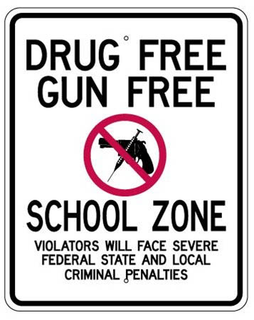 Gun-free zones do