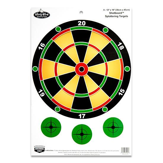 Many unconventional targets provide a challenge, requiring precision shooting and concentration.