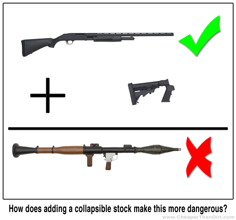 Cosmetic changes do not make an otherwise legal firearm an assault weapon.