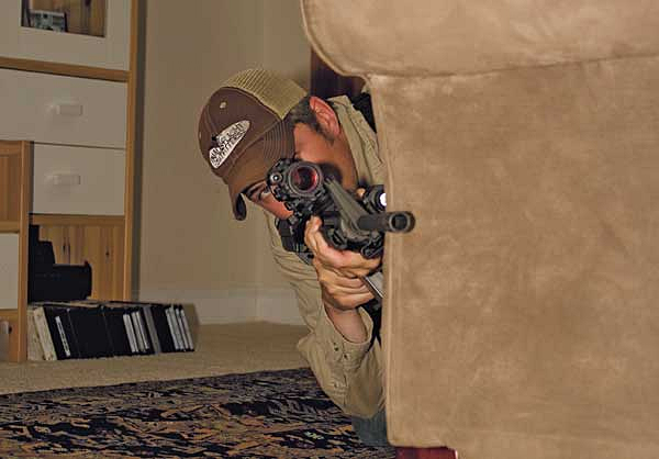Expert shooters will want to start practicing more advanced skills such as using cover.