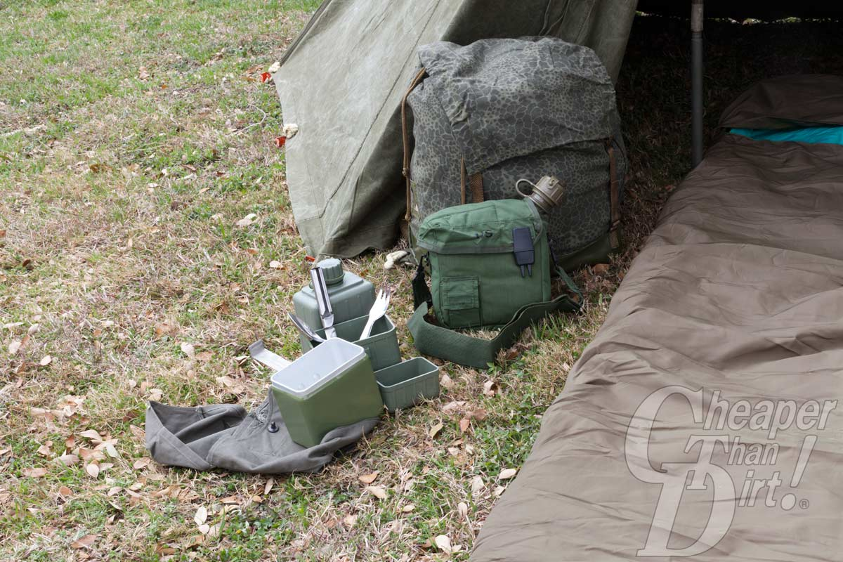 Repurposing Military Surplus Gear Camping Old School Style
