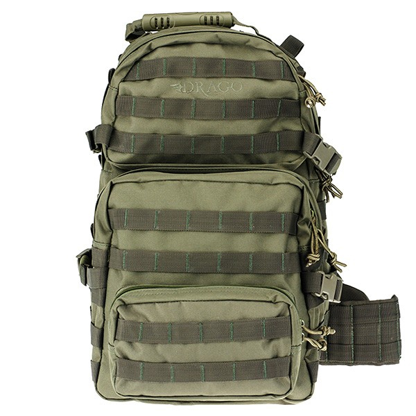 67cb67163825 Drago Assault Backpack. Measuring 20 by 15 by 13 inches there is plenty of  room for all your equipment