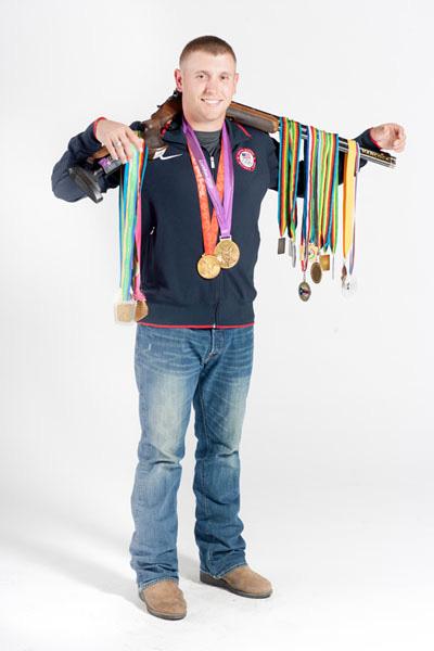 Olympic Shooter Vince Hancock