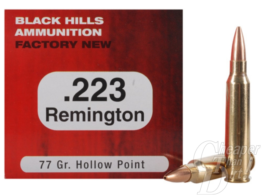 Black Hill .223 Ammunition