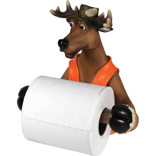 Rivers Edge Deer Wall Mount TP Holder